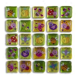 Glitter Sticker - Buglife, 1 sheet