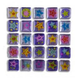 Glitter Sticker - Starry, 1 sheet
