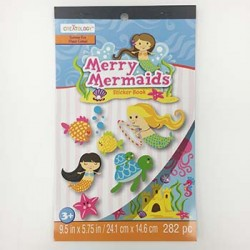 Mermaid Sticker Book