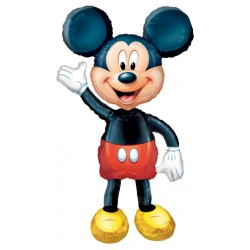 "Mickey Airwalker Foil Balloon - 38"" W x 52"" H"