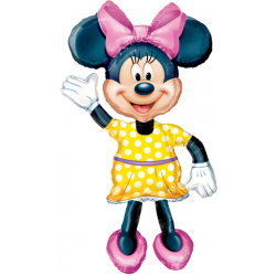 "Minnie Airwalker Foil Balloon 54""H"