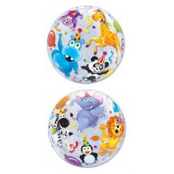"Party Animals 22"" Bubble Balloon"