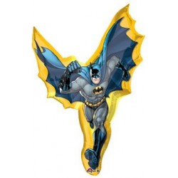 "Batman Action Foil Balloon, 33"" W x 39"" H"