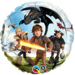 "How To Train Your Dragon 2 18"" Foil Balloon"