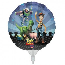 "Toy Story Gang EZ-Fill 9"" Foil Balloon"