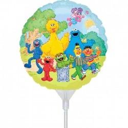 "Sesame Street 9"" Ez - Fill Foil Balloon"