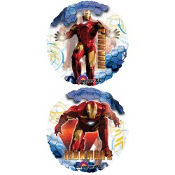"Iron Man 26"" Clear Balloon (2 sided design)"