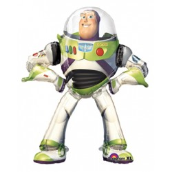 "Toy Story Buzz Lightyear Air Walker Foil Balloon 53""H"