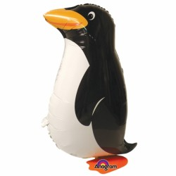 "Peppy Penguin Air Walker Foil Balloon - 11"" W x 22"" H"