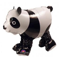 "Baby Panda Air Walker Foil Balloon - 21"" W x 18"" H"