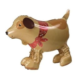 "Adorable Doggy Air Walker Foil Balloon - 22"" W x 18"" H"