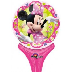 "Minnie Inflat-A-Fun Foil Balloon - 6"" W x 12"" H"
