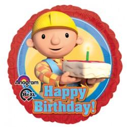 "Bob the Builder Birthday 17"" Foil Balloon"