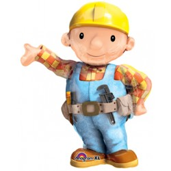 "Bob the Builder Shape Foil Balloon - 31"" W x 44"" H"