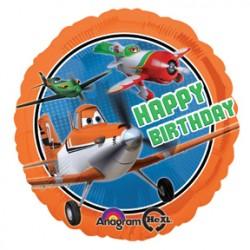 "Disney Planes Happy Birthday 17"" Foil Balloon"
