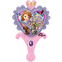 "Disney Princess Sofia the First Inflate-A-Fun Foil Balloon - 10"" W x 15"" H"
