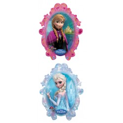 "Disney Frozen Foil Balloon - 33"" W x 35"" H (2 sided design)"