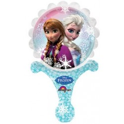 """Disney Frozen Inflat-A-Fun Foil Balloon - 8"""" W x 14"""" H"""
