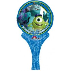 "Monsters University Inflat-A-Fun Foil Balloon - 6"" W x 12"" H"