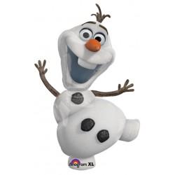 "Disney Frozen Olaf Foil Balloon - 24"" W x 48"" H"
