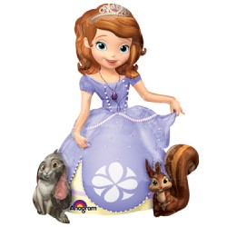 "Disney Princess Sofia the First Airwalker Foil Balloon - 37"" W x 48"" H"