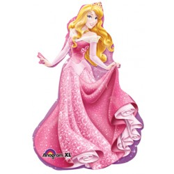"Disney Princess Sleeping Beauty Foil Balloon - 23"" W x 34"" H"