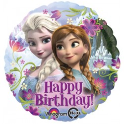 "Disney Frozen Happy Birthday 17"" Foil Balloon"
