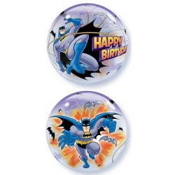 "Batman Birthday 22"" Bubble Balloon"