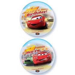 "Cars Birthday 22"" Bubble Balloon"