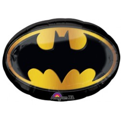 "Batman Emblem Foil Balloon - 31"" W x 25"" H"