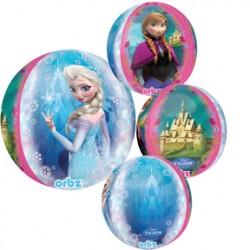 """Disney Frozen Orbz Foil Balloon - 15"""" W x 16"""" H"""