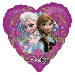 "Disney Frozen Love 17"" Heart Foil Balloon"