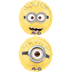 "Despicable Me Minion 17"" Head Foil Balloon (2 sided design)"