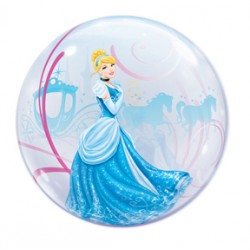 "Disney Princess Cinderella's Royal Debut 22"" Bubble Balloon"