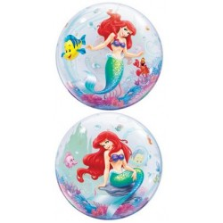 "The Little Mermaid 22"" Bubble Balloon"