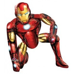 "Iron Man Airwalker Foil Balloon - 37"" W x 46"" H"