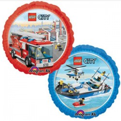 "Lego City 18"" Foil Ballon (2 sided design)"