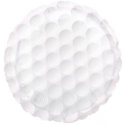 """Golf Ball 17"""" Foil Balloon"""