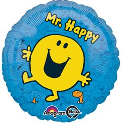 """Mr Men 17"""" Foil Balloon"""