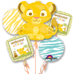 Lion King Baby Bouquet of 5 (with weight)