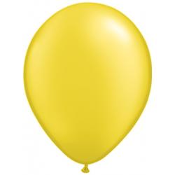 "11"" Round Pearl Citrine Latex Balloon (with helium)"