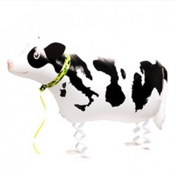 "Animal Walking Balloon - Cow 27""(W) x 13""(H)"
