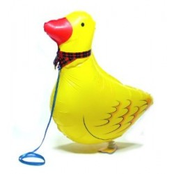 "Animal Walking Balloon - Duck 24""(W) x 14""(H)"