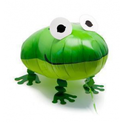 "Animal Walking Balloon - Frog 20.5""(W) x 16""(H)"
