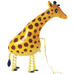 "Animal Walking Balloon - Giraffe 35""(W) x 13""(H)"