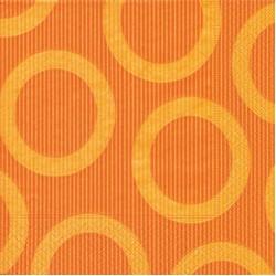 Circle Orange Napkin 33 x 33cm, 20pcs