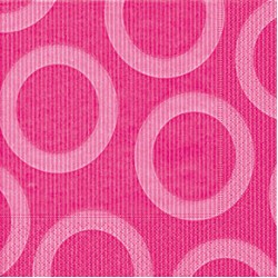 Circle Pink Napkin 33 x 33cm, 20pcs