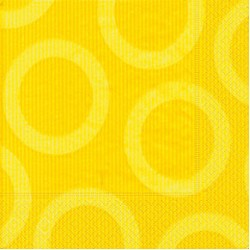Circle Yellow Napkin 33 x 33cm, 20pcs