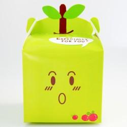 Gift box - Apple Green, 10 x 10 x 9.5 cm