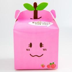 Gift box - Pink, 10 x 10 x 9.5 cm
